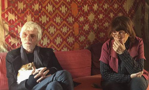 Michel Pastore and Evelyne Porret