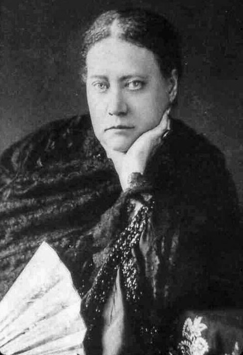Madame Blavatsky photo taken between 1886 and 1888