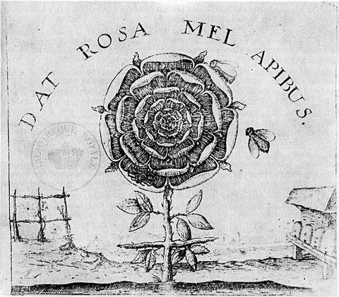 Title page of Summum Bonum by Rosicrucian apologist Robert Fludd 1629