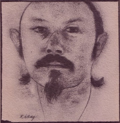 Paul Blackburn by R.B. Kitaj