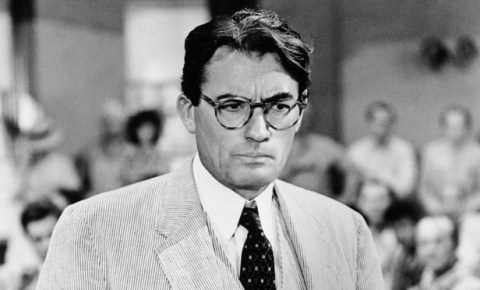 459b3adbbe Gregory Peck as Atticus Finch in the film version of To Kill a Mockingbird