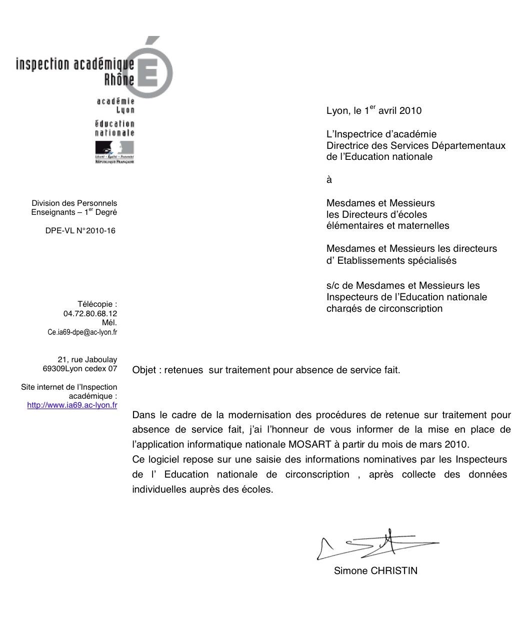 image lettre administrative note de service lettre de presentation