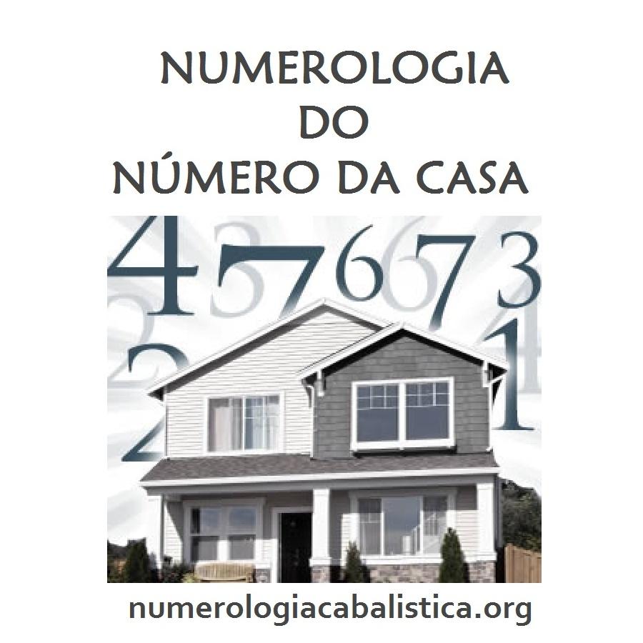 Qual o significado do nmero de sua casa  Numerologia Cabalstica