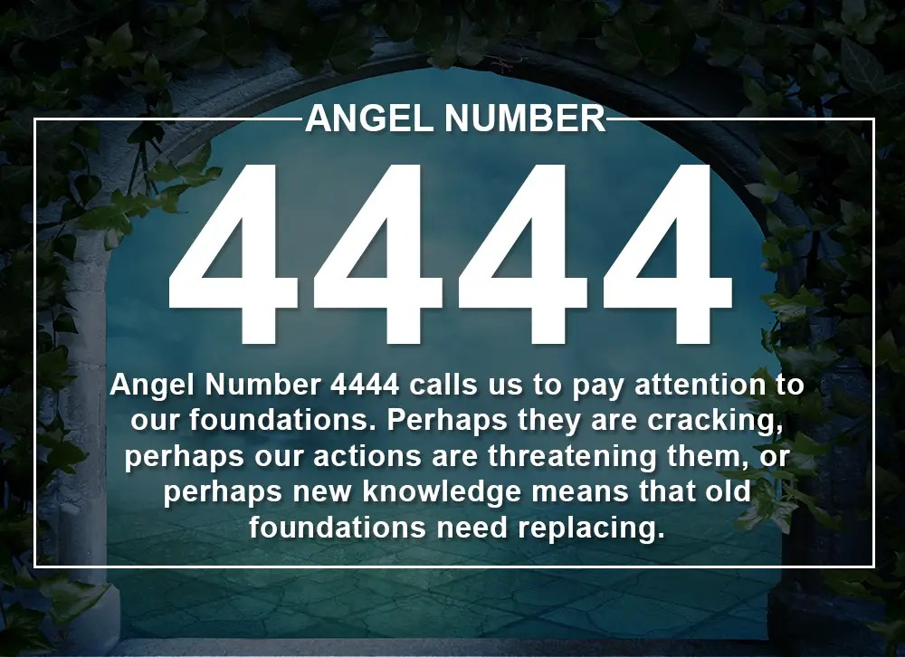 Angel Number 4444 Meanings  Why Are You Seeing 4444