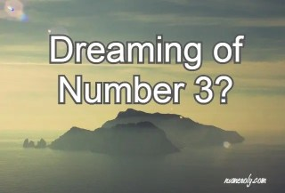 dreaming of number 3