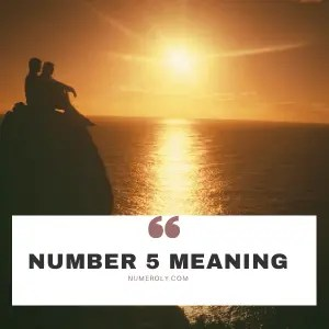 number 5 meaning