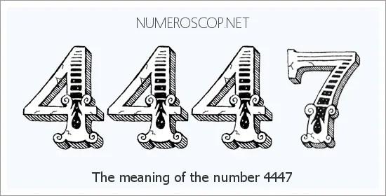 Angel Number 4447