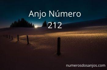 Significado do anjo número 212 – Significados do número 212 do anjo