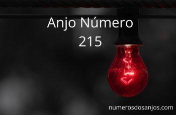 Significado do anjo número 215 – Significado do número do anjo 215
