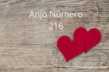 Anjo Número 216 – Significado do Número do Anjo 216