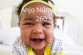 Anjo Número 260 – Significado do anjo número 260