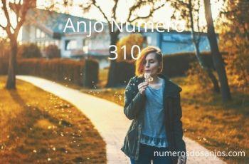 Anjo número 310 – Significado do anjo número 310