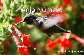 Anjo Número 465 – Significado do anjo número 465