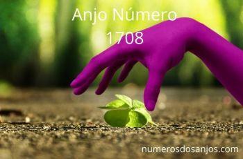 Anjo Número 1708: Assuma o controle de sua vida