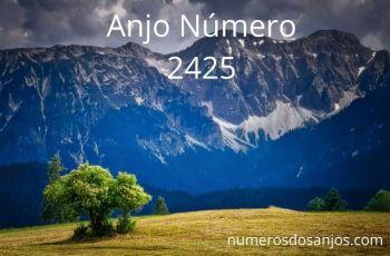 Anjo Número 2425: Traz um crescimento incrível
