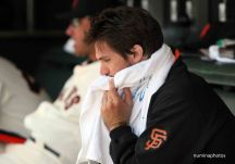 27 April 2008: San Francisco's pitcher Barry Zito during the Cincinnati's 10-1 victory over the Giants at AT&T park in San Francisco, California.