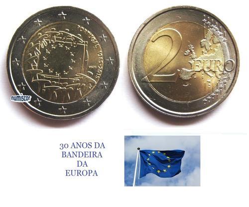 (K1601) MOEDA CC - 2,00 EURO 'Jogos Olímpicos' (2016) Bimetálica