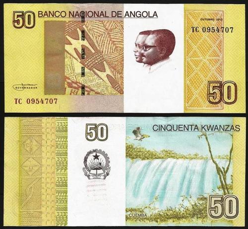 ANGOLA .n154 - 50 KWANZAS (2012) NOVA +++++ VENDIDA +++++