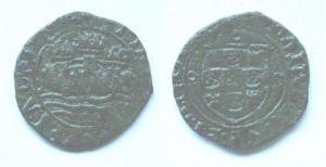 (M16A022) D. MANUEL I - CEITIL (1495-1521) Cobre +++++ VENDIDA +++++