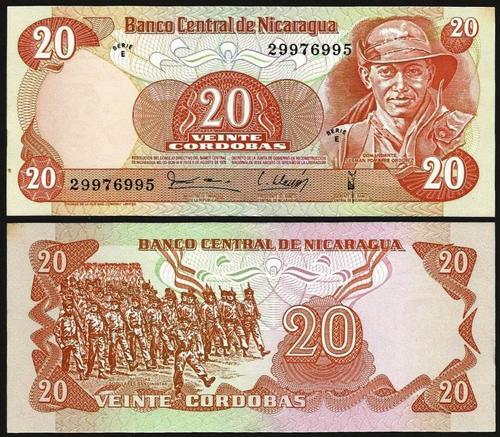NICARÁGUA .n135 - 20 CORDOBAS (1979) NOVA +++++ VENDIDA +++++