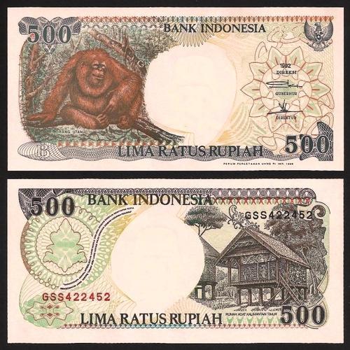 INDONÉSIA .n128 - 500 RUPIAS (1992/9) NOVA +++++ VENDIDA +++++