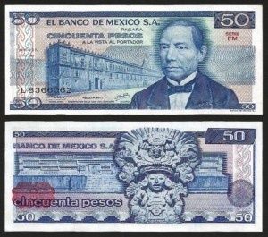 MÉXICO .n073 - 50 PESOS (1981) NOVA