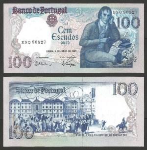 PR39E4. PORTUGAL - 100 ESCUDOS 'Barbosa du Bocage' Ch.8 (04.06.1985) NOVA +++++ VENDIDA +++++ 1