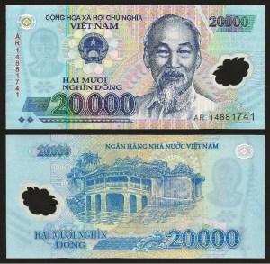 VIETNAM .n120 (VIET NAM) - 20.000 DONG (2014) NOVA