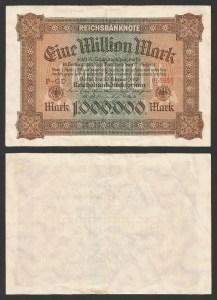 ALEMANHA .n86 (GERMANY) - 1.000.000 MARCOS (1923) CIRC… Esc. 1