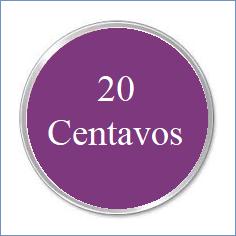 f. 20 CENTAVOS