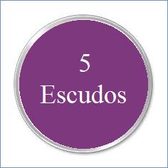 j. 5 ESCUDOS