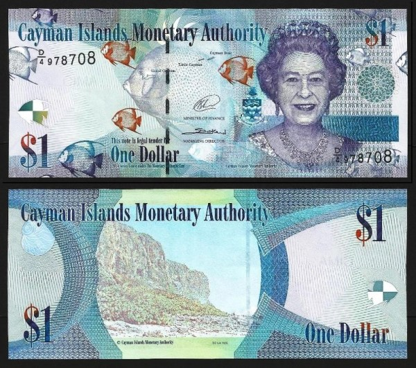 ILHAS CAIMÃO .n38d (CAYMON ISLANDS) - 1 DOLLAR (2014) NOVA +++++ VENDIDA +++++