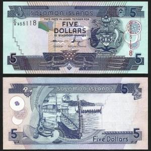 ILHAS SALOMÃO .n26 (SOLOMON ISLANDS) - 5 DOLLARS (2006-) NOVA
