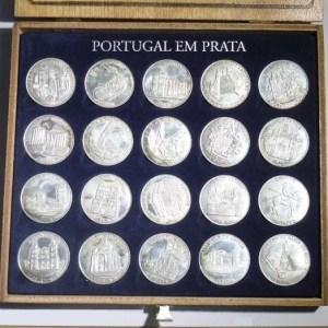 OC02. COLECÇÃO MEDALHAS 'Portugal em Prata' JN (1997) CNOVA