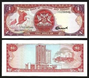 TRINDADE & TOBAGO .n36c (TRINIDAD & TOBAGO) - 1 Dollar (L 1979) NOVA… Esc.
