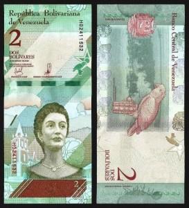 VENEZUELA .101a - 2 BOLÍVARES 'Soberanos' (15.01.2018) NOVA