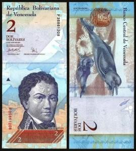 VENEZUELA .n88b - 2 Bolívares (24.05.2007) NOVA