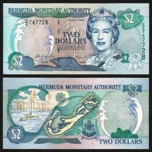 BERMUDAS .n50a (BERMUDA) - 2 DOLLARS (2000) NOVA… Esc.