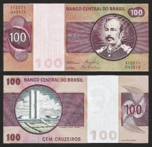BRASIL .n195A (BRAZIL) - 100 CRUZEIROS (1974/81) NOVA