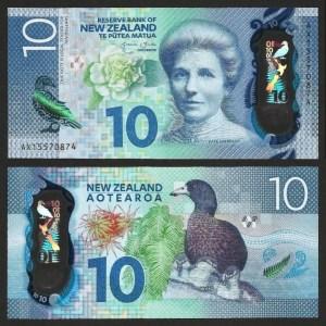 NOVA ZELÂNDIA .n192 (NEW ZEALAND) - 10 DOLLARS (2015) NOVA