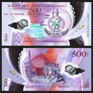 VANUATU .n18 - 500 VATU (2018) NOVA