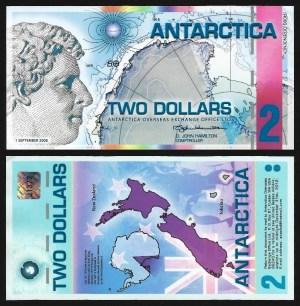 ANTÁRCTICA .n09 - 20 DOLLARS (1996) NOVA… Esc. 1