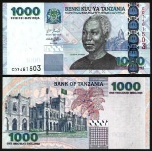 TANZÂNIA .n36b (TANZANIA) - 1.000 SHILINGI (2006) NOVA