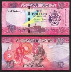 ILHAS SALOMÃO .n33 (SOLOMON ISLANDS) - 10 DOLLARS (2017) NOVA