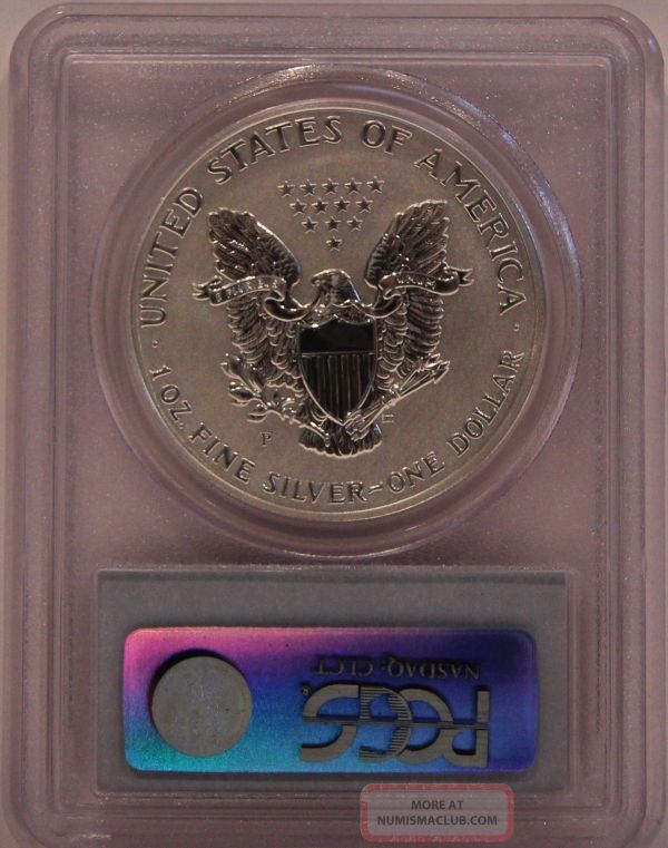 2006 - Pcgs Reverse Proof Pr70 Silver Eagle