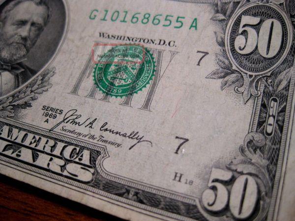 1969 20 Dollar Bill - Exploring Mars
