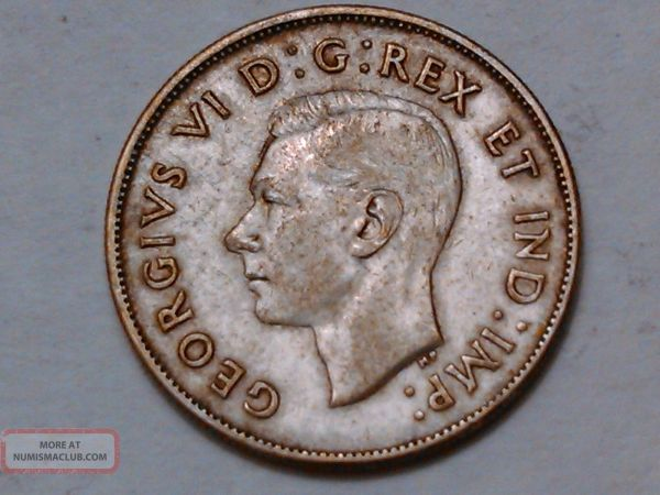 1943 Canadian 50 Cent Coin - Year of Clean Water