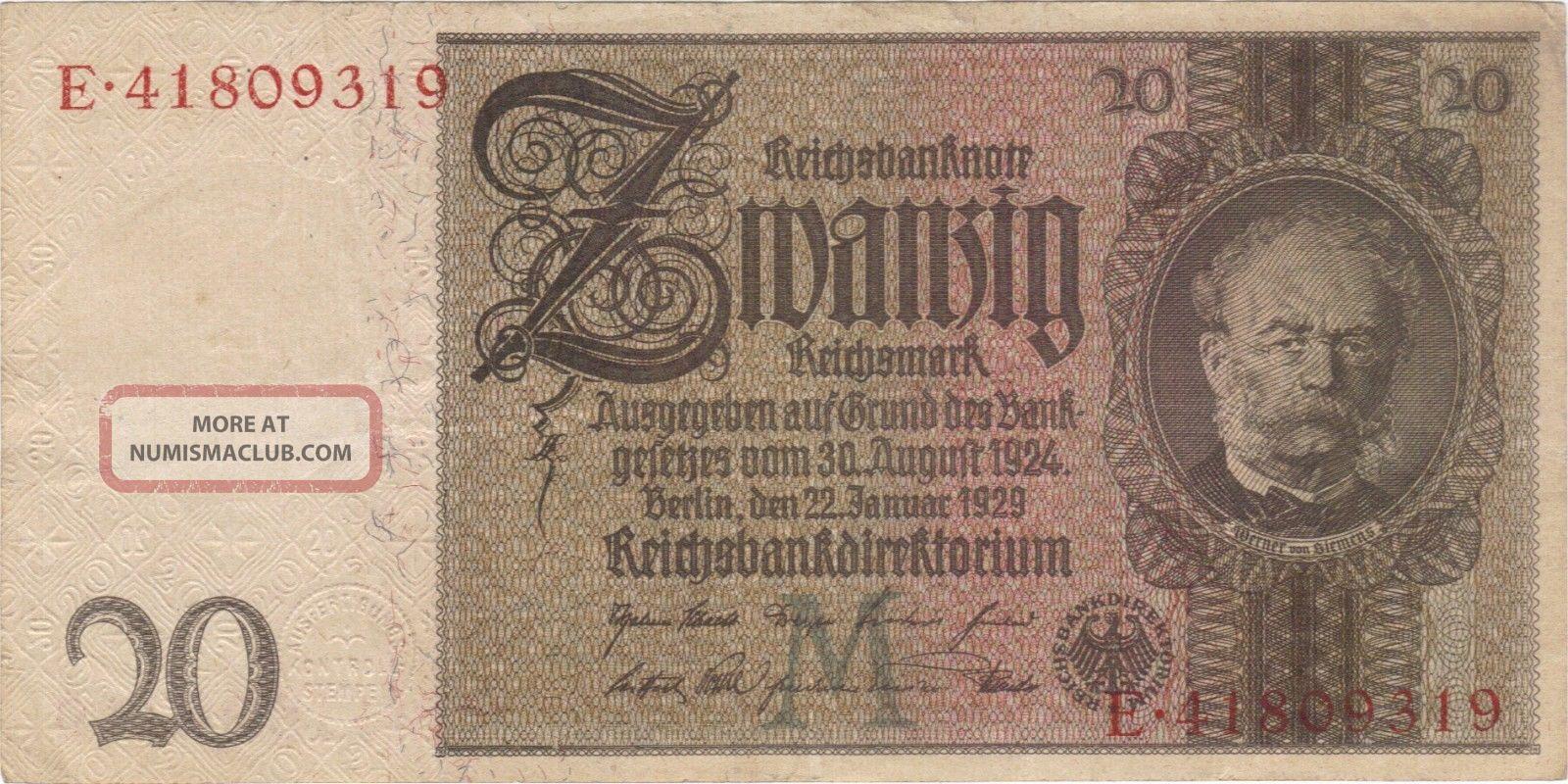 Paper 100000 Money German