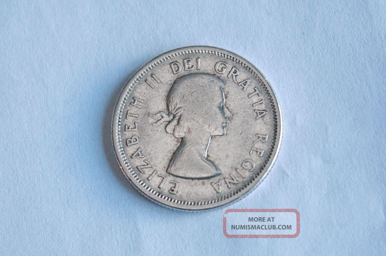 Canada Silver Quarter 25 Cent Twenty