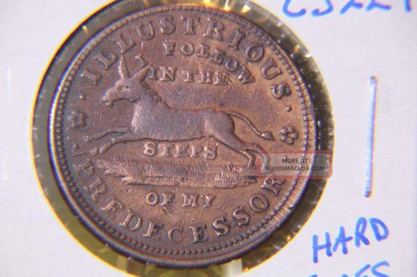1837 Hard Times Token Cs229 - Illustrious Predecessor